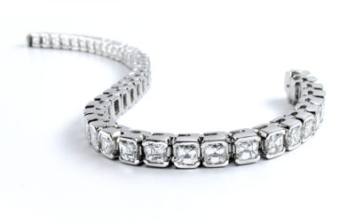 Cleaning and safely storing diamond jewellery
