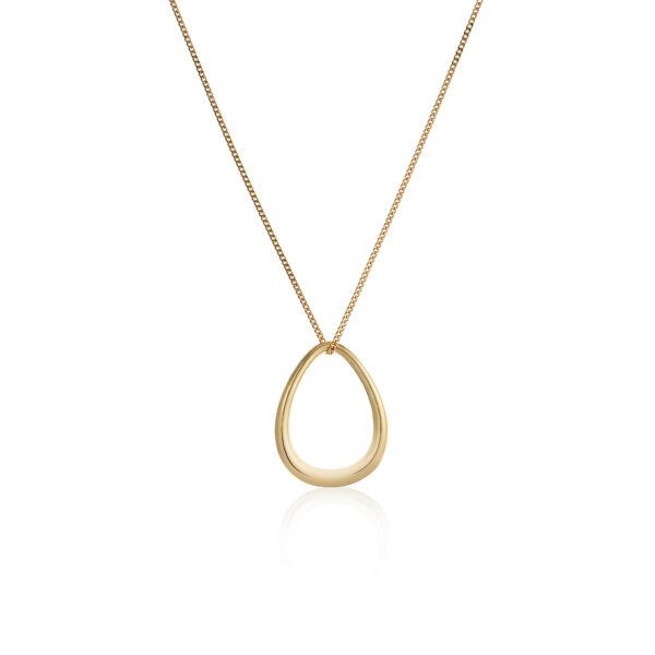 tear-shaped pendant